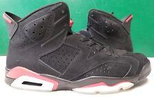 2009 Air Jordan Retro 6 men sz 13 black/varsity red 384664-061