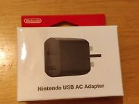 OFFICIAL NINTENDO SNES CLASSIC MINI USB AC POWER ADAPTER - BRAND NEW