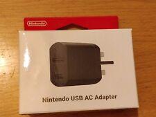 Oficial NINTENDO SNES Classic Mini USB Adaptador de Alimentación de CA-totalmente Nuevo