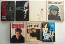 Collection Of 7 John Lennon Used Books As Is Out Of Print