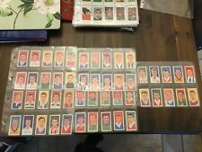 More details for barratt  famous footballers a8 - complete set of 50 verygood/ ex condition