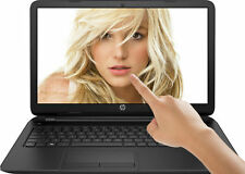 "HP Pavilion 15.6"" LED TouchScreen Intel 2.66GHz 4GB 500GB DVD+RW WIN10 Laptop PC"
