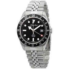 Mathey-Tissot Rolly Vintage Quartz Black Dial Men's Watch H902AN