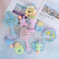 1Pcs Hand jingle shaking bell rattles toys newborn teether accessories