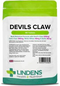 Devil's Claw Formula (Lindens) 90 Tablets