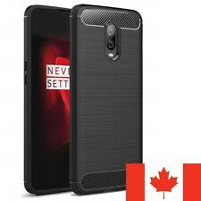 For OnePlus 8 Pro 7 7T 6 6T 5 Case - Carbon Fiber Protective Soft TPU Cover