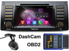Autoradio + OBD 2+ Dashcam Android 6 2gbe39 e53 x5 BMW 5er WIFI Bluetooth DAB + DVR