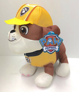 Paw Patrol Rubble Plush Toy - 11""