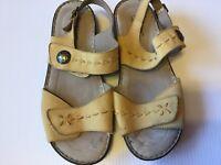 Ladies Hotter  Alma Sandals UK Size 6.5,EU SIZE 40, US Size 8.5 Yellow/Mustard