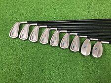 NICE Zevo Golf MID-BLADE Purple Dot Iron Set 3-9 GW SW Right RH Graphite REGULAR