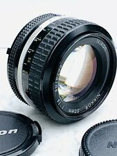 Nikon Nikkor 50mm f1:4 Ai Manual Focus Prime Lens