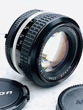 Nikon Nikkor 50mm f1:4 Ai Manual Focus Prime Lens