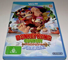 Donkey Kong Country Tropical Freeze Nintendo Wii U PAL *Complete*