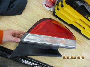 2009-2012 Lincoln MKS Tail Lamp Tail Light Assembly OEM LH DRIVERS LEFT 09 10 11