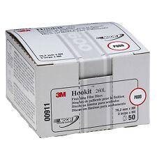 """3M 0911 911 Hookit 3"""" P600 Grade Finishing Film Disc 50 Discs Per Box 00911"""