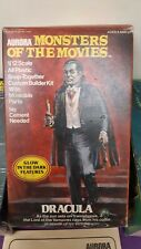 Aurora monster's Of the Movies  Dracula box and instructions only original 1975