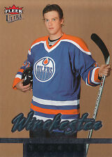 05-06 FLEER ULTRA ROOKIE RC GOLD MEDALLION #218 BRAD WINCHESTER OILERS *16254