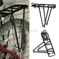 Alloy Bicycle Rear Rack Bike Carrier Bracket Pannier Luggage Bag Cycle Seat