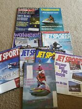 Lot Of Vintage Jet Sport Magazines Seadoo Yamaha Kawasaki Watercraft Jetskis Sea Doo Forum