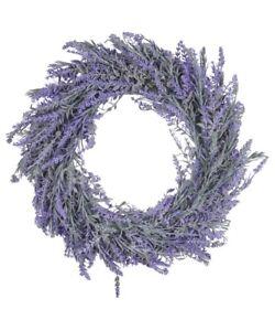 "18"" Purple Lavender Wreath Door Decor NEW"