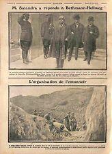 Antonio Salandra  Presidente del Consiglio dei ministri Italia Italy  WWI 1915