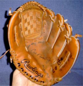 Cal Ripken Jr Rawlings Youth Baseball Glove- Baltimore Orioles, HOF