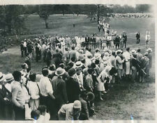 "1929 Al Espinosa, U.S. Open, Original Photo at Winged Foot, 8"" x 10"""