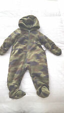 NWT  Cuddle Bear Camouflage  Snowsuit   Sz. 6 Months  Green Camo  NEW