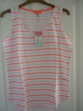 NEW ex Anthology WHITE Jersey Wrap Front Cami Camisole Vest Top sizes 12-32