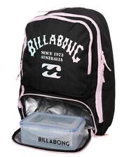 BILLABONG BACKPACK BLACK WOMENS LADIES GIRLS NEW BAGS BAG PENCIL CASE LUNCH BOX