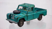 Vintage Corgi Toys 438 Land Rover 109 WB Toy Car Pick Up Truck Metallic Green