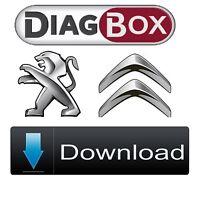 Diagbox 7.83 software for Citroen/Peugeot Lexia 3 interface - Downloadable vers.