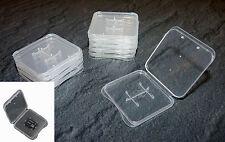 10 Stück für Micro SD Box Speicherkarte ETUI Schutzhülle Hülle MMC GB Case
