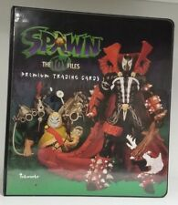 Spawn The Toy Files Collectible Trading Card Binder Album