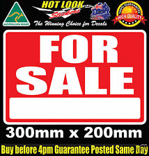 FOR SALE Sticker Sign Vinyl Decal 300X200mm CAR Window Truck bus speed Ski boat