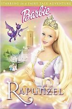 BARBIE RAPUNZEL (2002) $1.99 VHS NEW! SEALED!  IN CLAMSHELL CASE ANIMATION