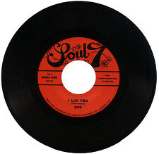 "WEE  ""I LUV YOU c/w I WANT TO SHOW YOU""   MONSTER 70's SOUL DANCER    LISTEN!"