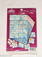 NEW CINDERELLA DREAMLAND 1-PAPER PARTY GAME, BIRTHDAY-CHILD  PARTY SUPPLIES