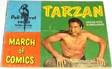MARCH OF COMICS 98 TARZAN RARE GIVEAWAY PROMO VG+ 1953 MINI PROMOTION POLL PAROT