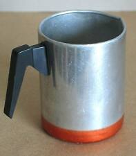 "Aluminum Child's Toy Pitcher Black Plastic Handle 3.25"" copper base FREE SH"