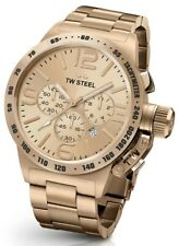 Chronograph 48 Mm Watch Tw Steel Cb234 Rose-Gold Stainless-Steel