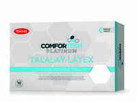 Tontine Comfortech Platinum Talalay Latex Classic Pillow Medium Profile & Feel