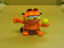 Comicfigur  Garfield mit Tennisball Tennis is my Life!