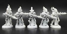 Eldar Craftworlds - Wraithguard (5) OOP - metal Warhammer 40K HM18
