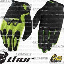 Guantes Thor Spectrum Verde Negro Juventud Niños Niños pequeños Motocross Enduro Quad