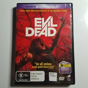 Evil Dead | DVD Movie | 1981 | Horror | Bruce Campbell, Ted Raimi, Lucy Lawless