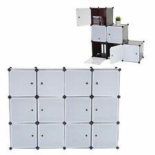 Regalsystem Cairns T307, Steckregal Schrank Aufbewahrung, 12 Boxen je 36x36x36cm