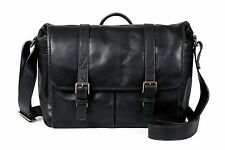 ONA Brixton Leather Camera / Messenger Bag (Black) >Timeless Handcrafted Quality