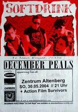SOFTDRINK - 2004 - Konzertplakat - December Peals - Concert