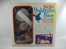 Paddington Bear Musical Mobile Vintage Nursery Decor in Box Works